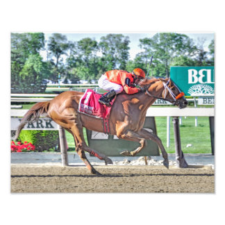 Turco Bravo Winner of the Flat Out Stakes Photo Print
