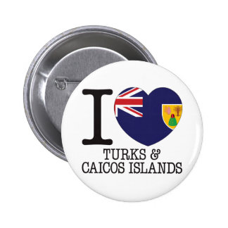 Turcos Caicos y amor v2 de las islas Pins