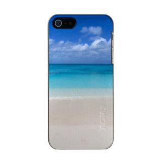 Turcos de la playa el | y foto de sotavento de carcasa de iphone 5 incipio feather shine