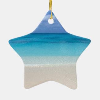 Turcos de la playa el | y foto de sotavento de adornos de navidad