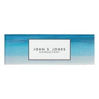 Turcos de la playa el   y foto de sotavento de etiqueta con nombre