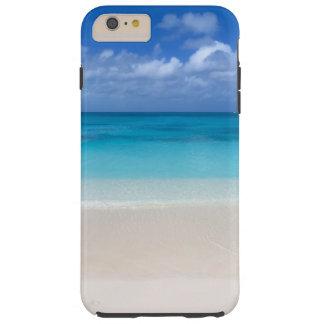 Turcos de la playa el | y foto de sotavento de funda de iPhone 6 plus tough