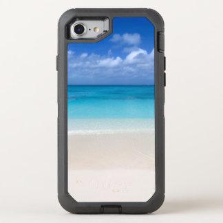 Turcos de la playa el   y foto de sotavento de funda OtterBox defender para iPhone 7