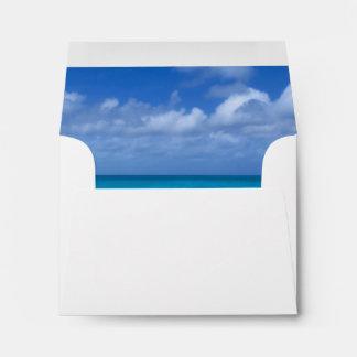 Turcos de la playa el | y foto de sotavento de sobres