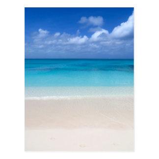 Turcos de la playa el | y foto de sotavento de tarjetas postales