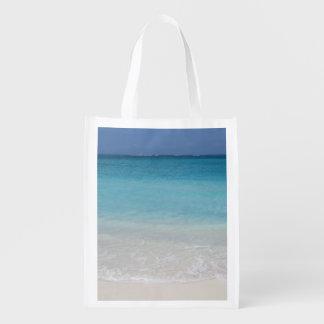 Turcos de la playa el | y foto hermosos de Caicos Bolsas De La Compra
