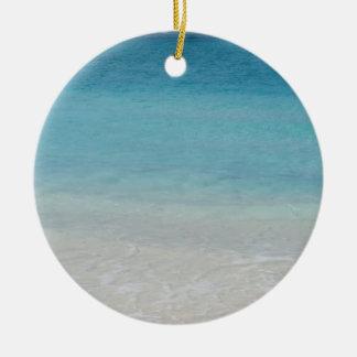 Turcos de la playa el | y foto hermosos de Caicos Ornamentos De Navidad