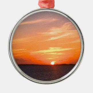 Turcos de la puesta del sol el | y foto magníficos adorno para reyes