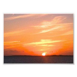 Turcos de la puesta del sol el | y foto magníficos