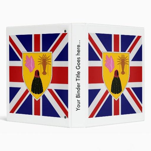 Turcos y bandera de alta calidad de Caicos