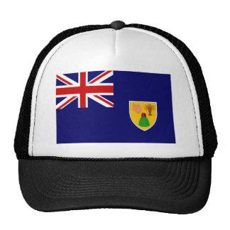 Turcos y bandera de Caicos Gorra