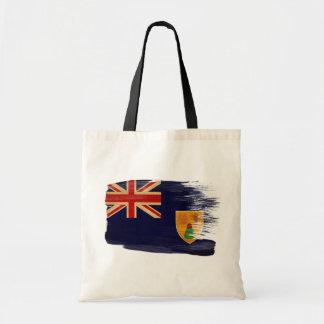 Turcos y bolsos de la lona de la bandera de Caicos Bolsa Tela Barata