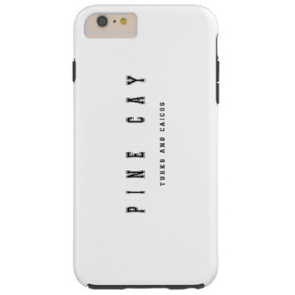 Turcos y Caicos de la isleta del pino Funda Para iPhone 6 Plus Tough