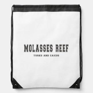 Turcos y Caicos del filón de la melaza Mochilas
