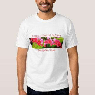 Turcos y Caicos hermosos por la camiseta de la Poleras
