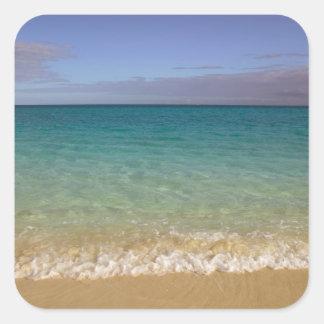 Turcos y Caicos, isla de Providenciales, Pegatina Cuadrada