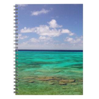 Turcos y Caicos, isla magnífica del turco, Cockbur Cuaderno