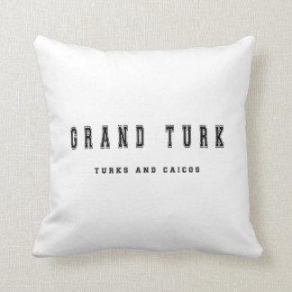 Turcos y Caicos magníficos del turco Cojín