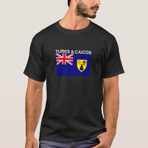 Turcos y Caicos Playera