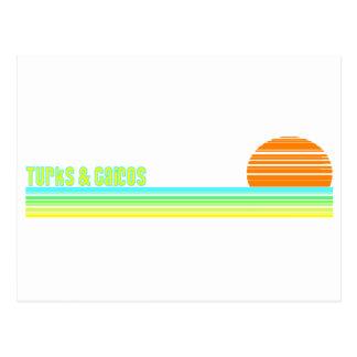 Turcos y Caicos Tarjeta Postal
