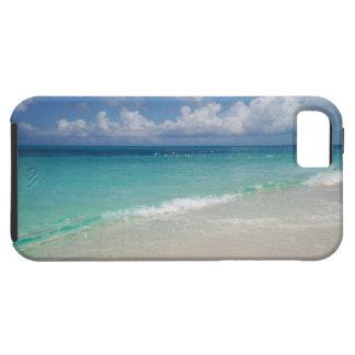 Turcos y caso del iPhone 5 de la playa de Caicos Funda Para iPhone 5 Tough