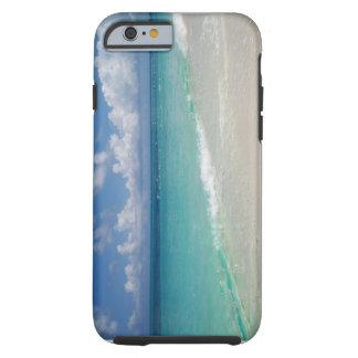 Turcos y caso del iPhone 6 de la playa de Caicos Funda Para iPhone 6 Tough
