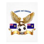 Turcos y diseños del fútbol de Caicos Membrete A Diseño