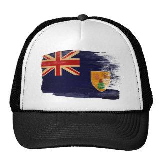 Turcos y gorra del camionero de la bandera de Caic