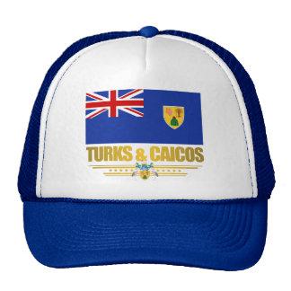Turcos y orgullo de Caicos Gorro De Camionero