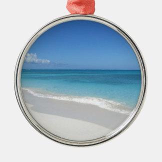 Turcos y playa ideal de Caicos Ornamento Para Reyes Magos
