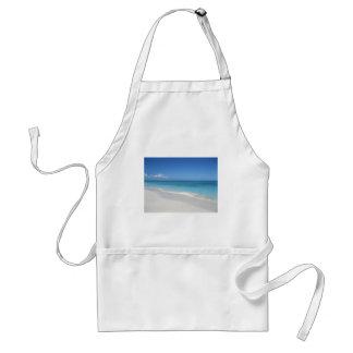 Turcos y playa ideal de Caicos Delantal