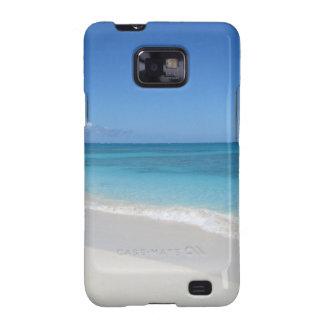 Turcos y playa ideal de Caicos Samsung Galaxy SII Carcasa