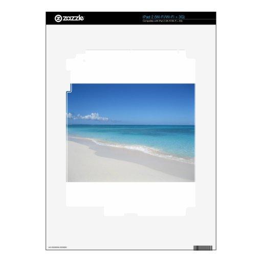 Turcos y playa ideal de Caicos Skins Para eliPad 2