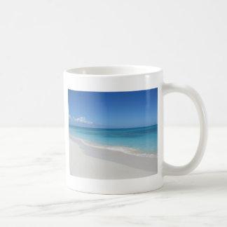 Turcos y playa ideal de Caicos Taza De Café