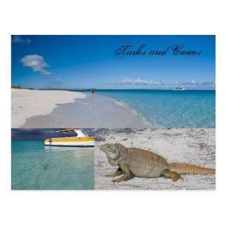 Turcos y postal de Caicos