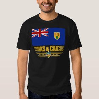 Turcos y ropa del orgullo de Caicos Camisas