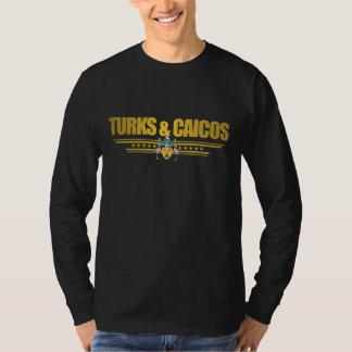 Turcos y ropa del orgullo de Caicos Polera