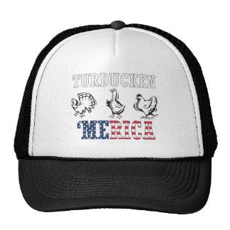 Turducken - 'Merican Tradition Mesh Hats