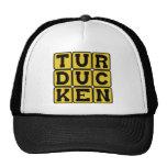 Turducken, pollo en un pato en una Turquía Gorras
