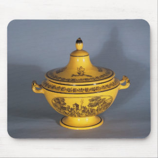 Tureen with black print design, c.1820 mouse pad