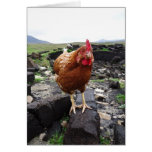 Turf chicken, Ireland Card
