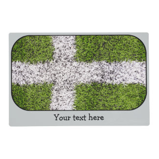 Turf cross placemat