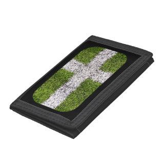 Turf cross trifold wallet