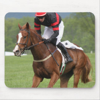 Turf Horse Race Mouse Pad