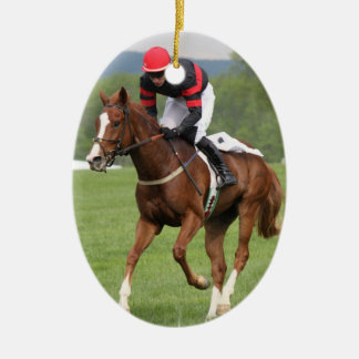 Turf Horse Race Ornament