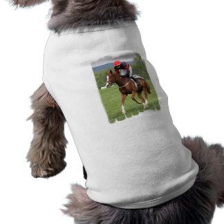 Turf Horse Race Pet Shirt