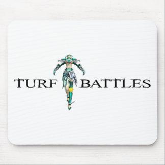 Turfbattles Logo Colour Light Mouse Pad