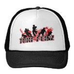 TURFFIENZ HAT IN BLACK