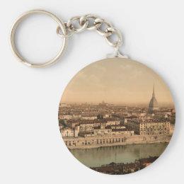 Turin I, Piedmont, Italy Keychain