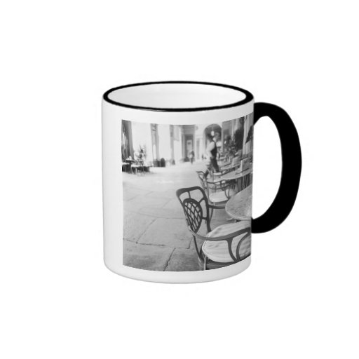 Turin Italy, Cafe and Archway Coffee Mugs